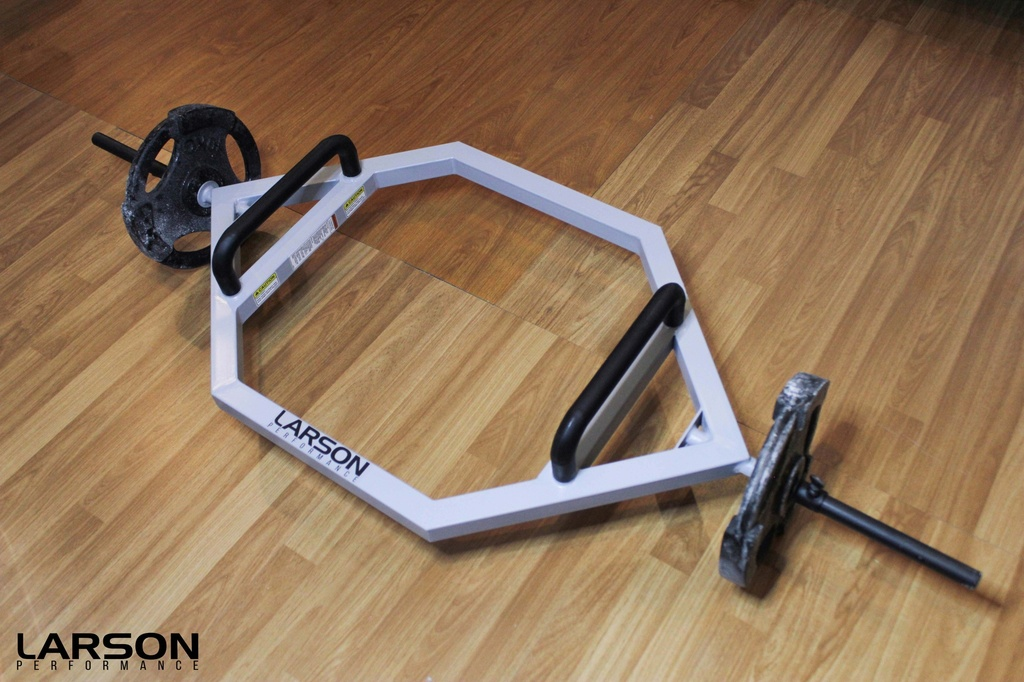 Larson Performance Engineered Trap Hex Bar with Olympic Sleeve